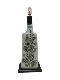 Vintage Mexican Ceramic Table Lamp | Chairish