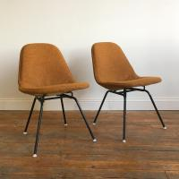 Herman Miller Eames Wire Chairs With Alexander Girard ...