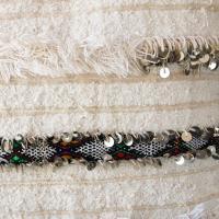 Moroccan Handira Wedding Blanket Pillow II | Chairish