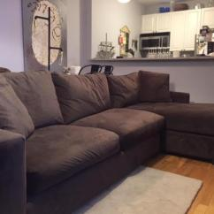 Room And Board Metro Sofa With Chaise Lazy Boy Sleeper Leah Brown & Sectional | Chairish