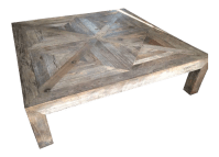 Restoration Hardware Reclaimed Wood Coffee Table | Chairish