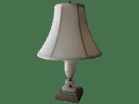 Vintage Brass & Marble Desk Lamp | Chairish