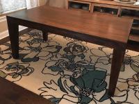 West Elm Carroll Farm Dining Table | Chairish