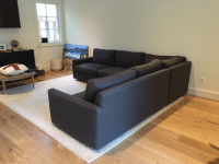Room and Board Easton Sectional Sofa | Chairish