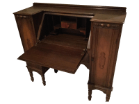 Antique Pull Out Desk   Chairish