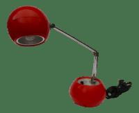 Vintage High Intensity Orange Desk Lamp | Chairish