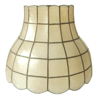 Vintage Capiz Shell Lamp Shade | Chairish