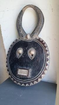 African Mask Wall Art | Chairish