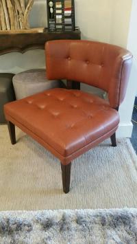 Burnt Orange Occasional Chair | Chairish