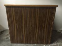 Mid-Century Wood Filing Cabinet - Set of 3 | Chairish