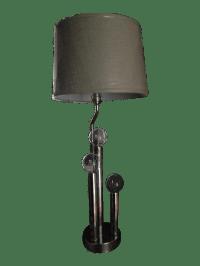 Vintage Mid-Century Modern Chrome Table Lamp | Chairish