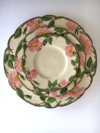 Franciscan Desert Rose Dinnerware - Service for 6 | Chairish
