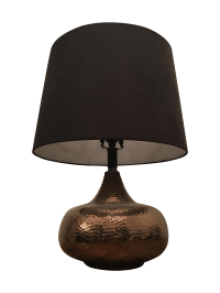 Hammered Brass Table Lamp | Chairish