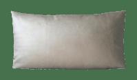 Dark Gold Faux Leather Lumbar Pillow   Chairish