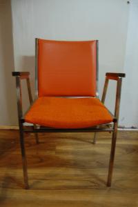 Mid Century Modern Stacking Chairs - Pair   Chairish