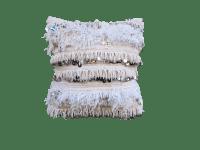 Moroccan Handira Wedding Blanket Throw Pillow | Chairish