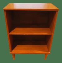 Mid-Century Modern Bookshelf Side Table Tapered Legs ...