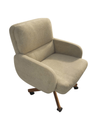 Scandiline Mid-Century Danish Modern Office Chair | Chairish