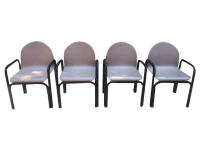 Vintage Knoll Gae Aulenti Dining Chairs - Set of 4 | Chairish
