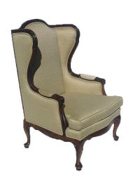 Vintage Ethan Allen Wingback Chair | Chairish