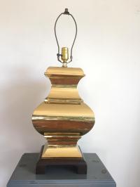 Vintage Brass Ginger Jar Lamp | Chairish