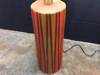 Mid-Century Ceramic Table Lamps - A Pair | Chairish