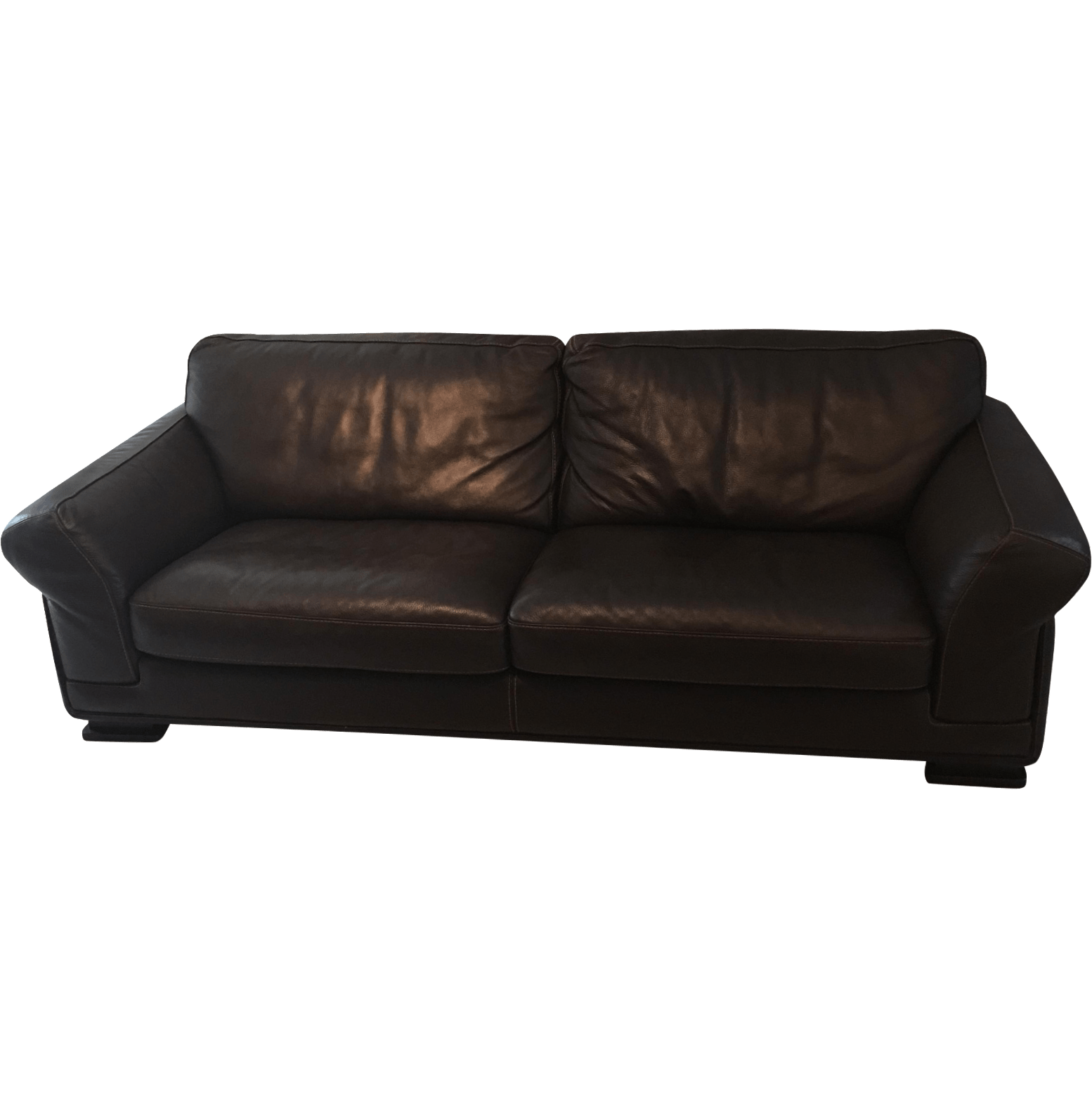 leather sofa sale raleigh nc no credit check pay weekly sofas roche bobois | chairish