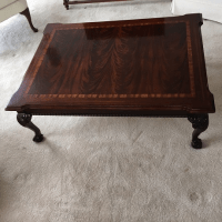 Thomasville Mahogany Coffee Table | Chairish