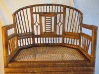 Chinese Chippendale Bamboo Chair   Chairish