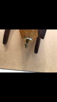 Mid-Century Modern Hanging Swag Lamp | Chairish