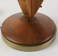 Mid-Century Modern Teak Table Lamp | Chairish
