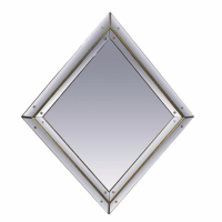 Diamond Shaped Regency Style Mirror