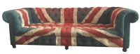 Timothy Oulton Custom Union Jack Couch for ABC Carpet ...