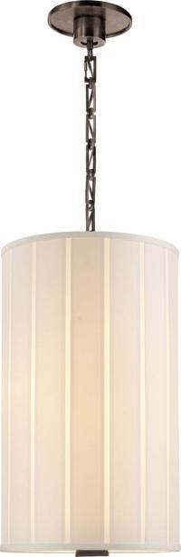 Barbara Barry Perfect Pleat 2-Light Hanging Shade | Chairish