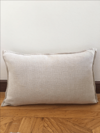 Restoration Hardware French Linen Pillow | Chairish