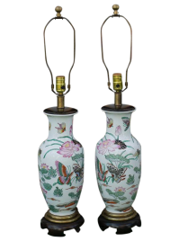 Frederick Cooper Porcelain Table Lamps