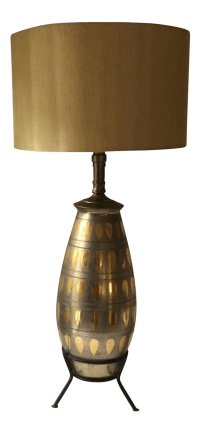 Mid-Century Atomic Table Lamp   Chairish