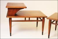 Mid Century Modern Lane Acclaim Step Tables - A Pair ...