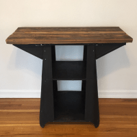 Industrial Standing Desk | Chairish
