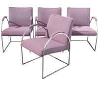 Patrician Furniture Co. Chrome Chairs