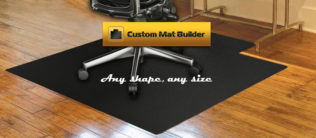 desk chair mats oak and black dining chairs for carpeting thickest most durable custom