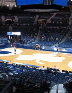 also notre dame fighting irish basketball seating chart  map seatgeek rh