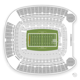 carolina panthers chair office kitchen table and chairs pittsburgh steelers seating chart & interactive map | seatgeek