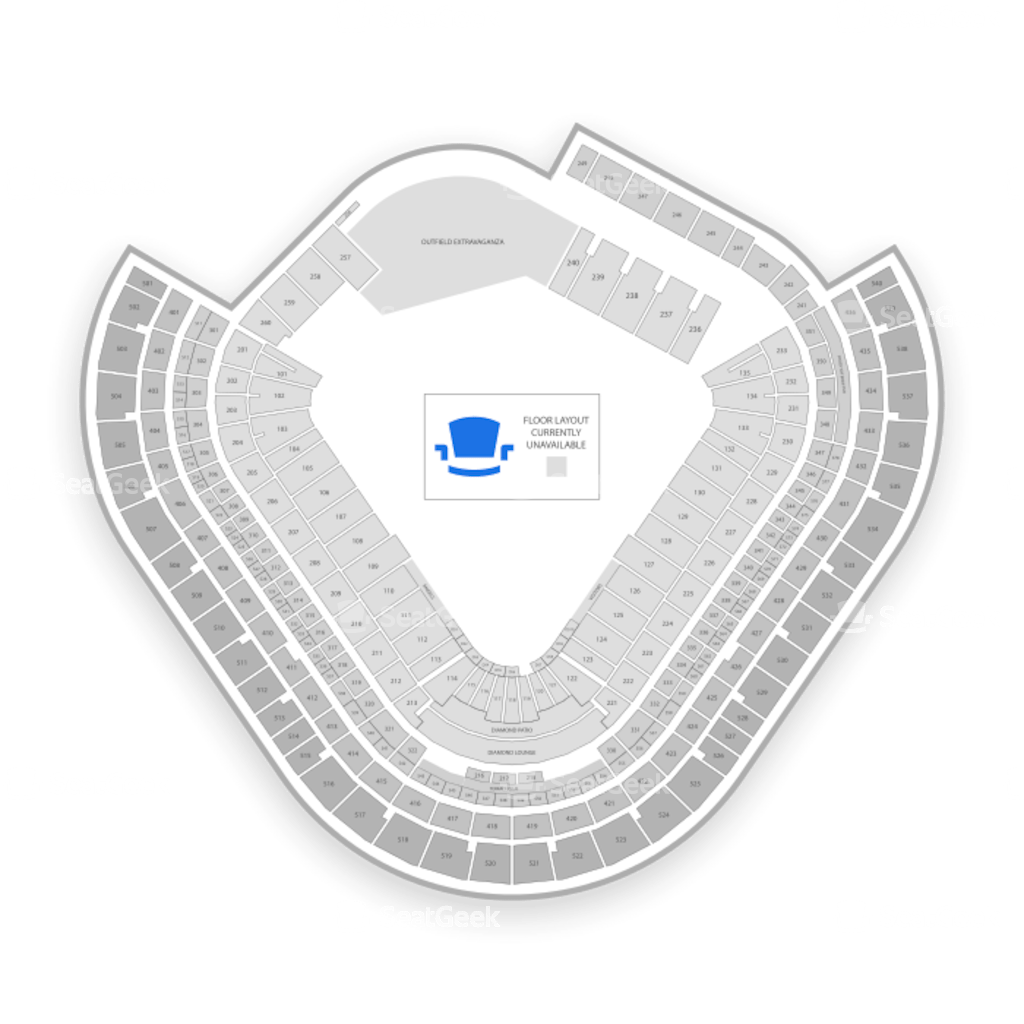 Angel Stadium Seating Chart With Seat Numbers