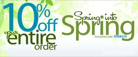 spring sale banner copy