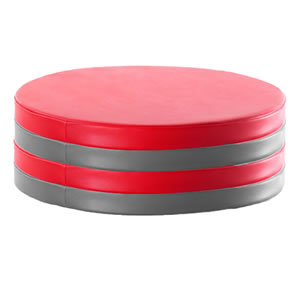 Puzzle breakout soft seating
