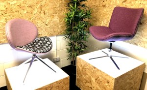 Pringle, breakout soft seating