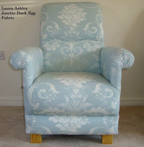 adult egg chair back support for pregnancy laura ashley josette fabric duck armchair nursery lounge kitchen green blue