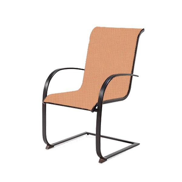 spring chair sling brown jordan