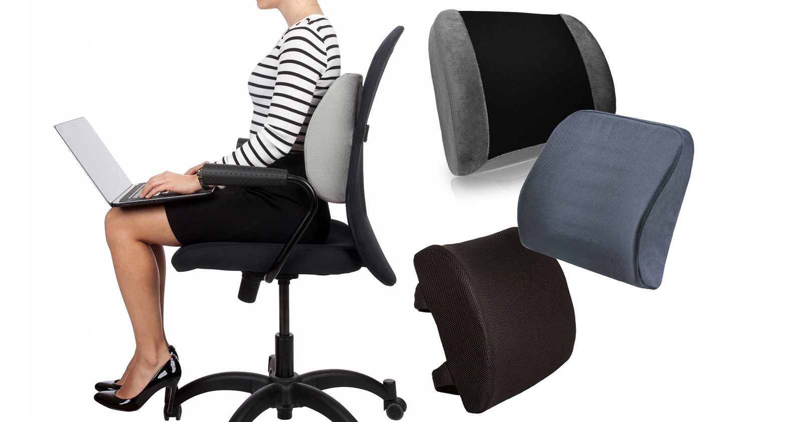 Computer Chair Back Support Best Lumbar Support Cushion For Office Chair Chair And
